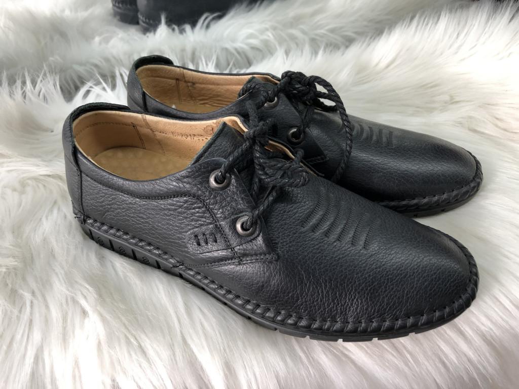 giày nam 2017b dây đen